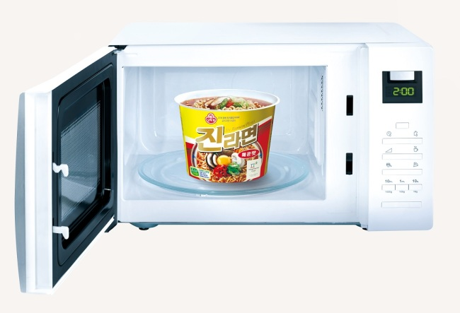 Ottogi notches up ramen packaging for microwave use