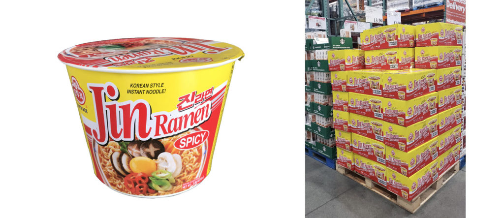 'Jin Ramen' and 'Cut Vermicelli' are now available at a Costco near you.